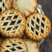TODAY ONLY - Free mince pies & hot drinks for senior citizens