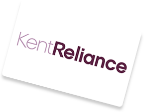 Kent Reliance savings logo