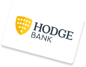 Hodge Bank logo